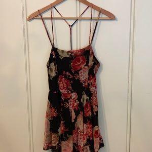 Dresses & Skirts - Floral skater jumper